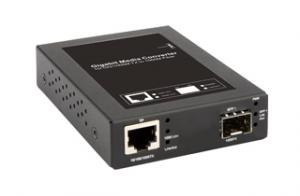 10/100/1000BaseT 銅纜1000SX/LX SFP 光纖媒體轉換器