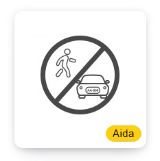 Aida Parking Violation & Restricted Area