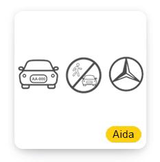 Aida車牌車廠辨識含違停偵測