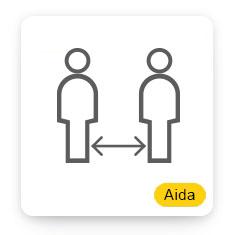 Aida Social Distancing